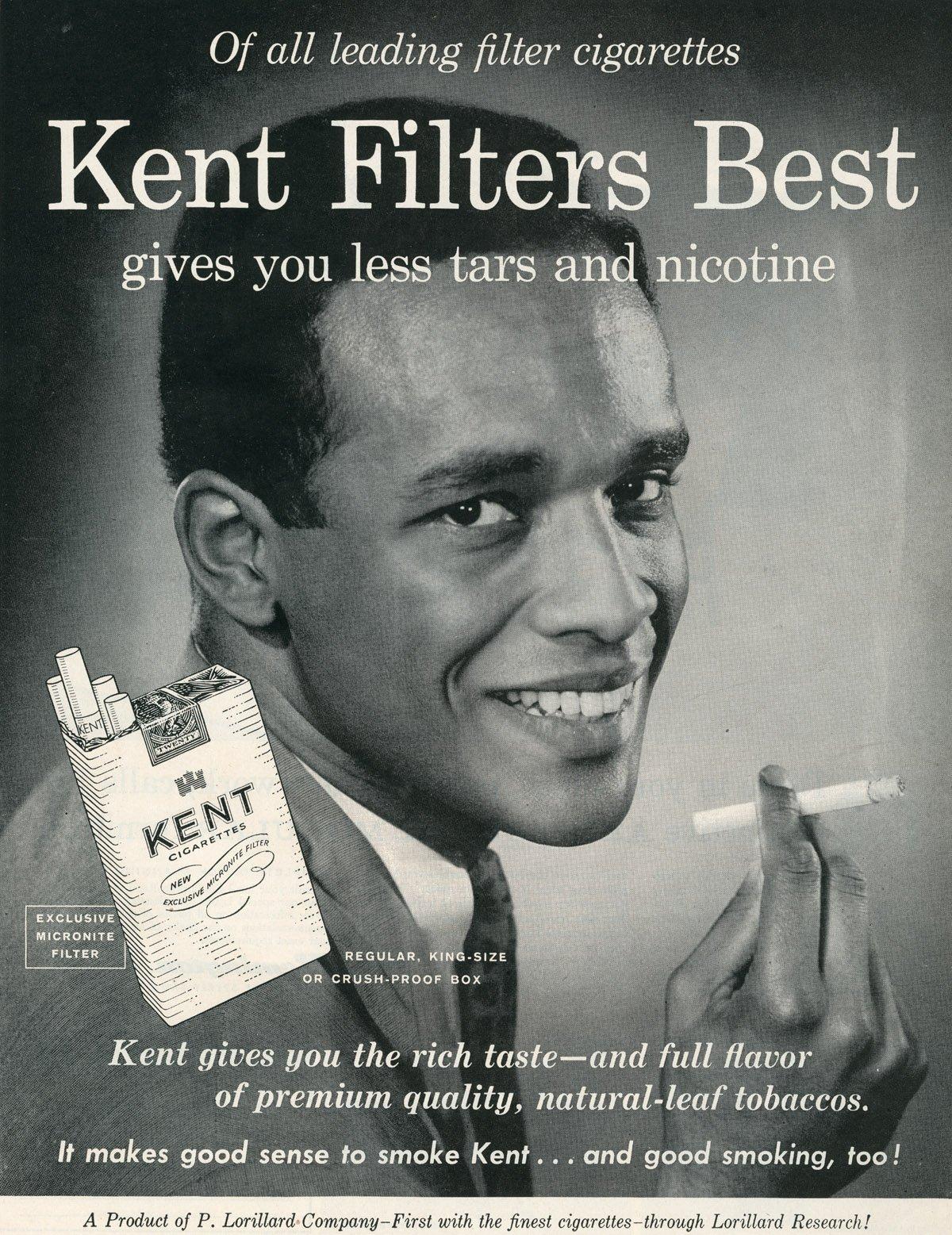 Filtri per sigarette in amianto