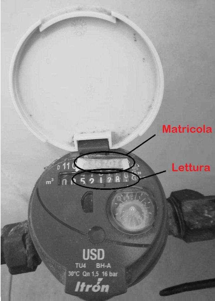 Matricola contatore acqua: cos'è e dove si trova